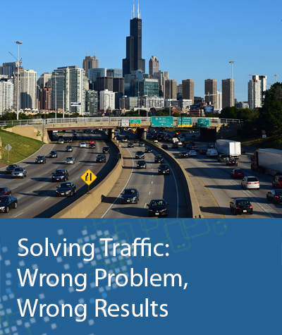 Solving Traffic: Wrong Problem, Wrong Results