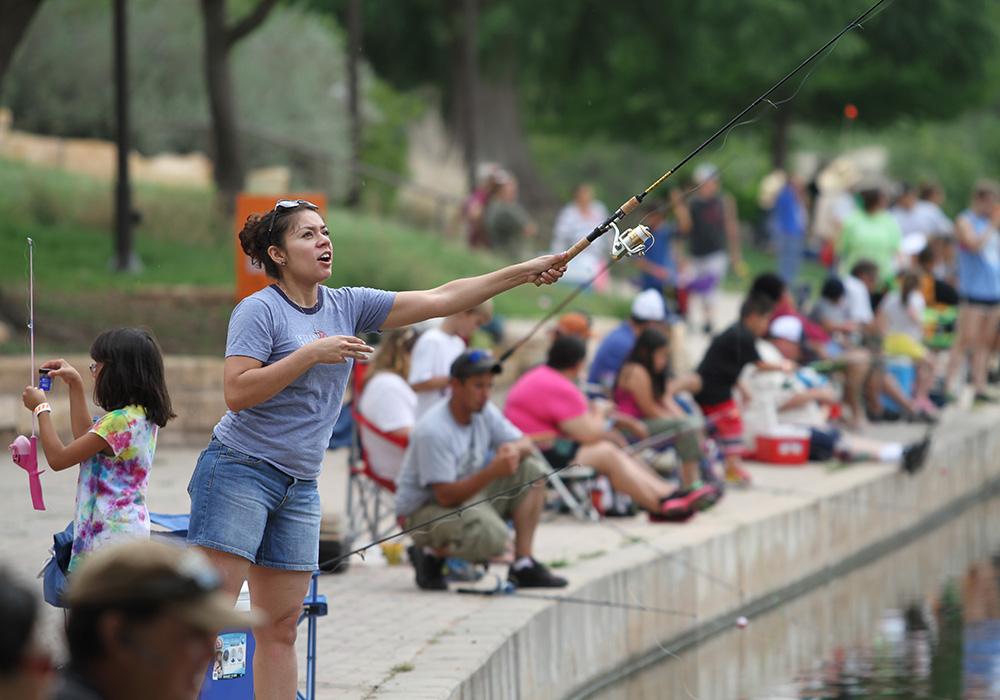 San Angelo Concho River Walk: San Angelo, Texas