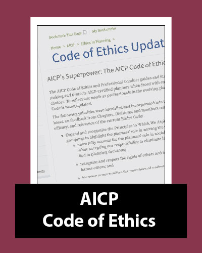 AICP Code of Ethics and Professional Conduct