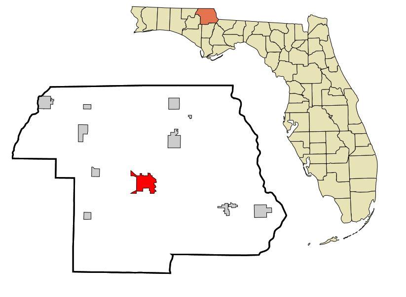 Marianna Florida Map.Marianna Florida