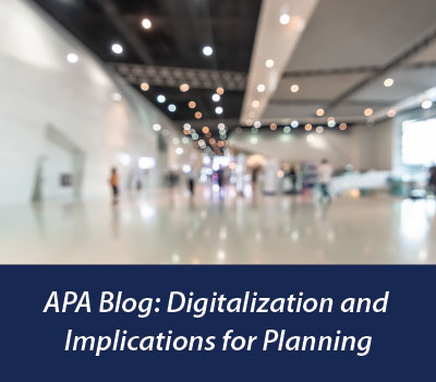 Blog: Digitalization and Implications for Planning