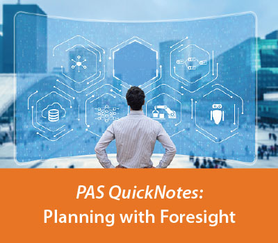 Quicknotes: Planning with Foresight