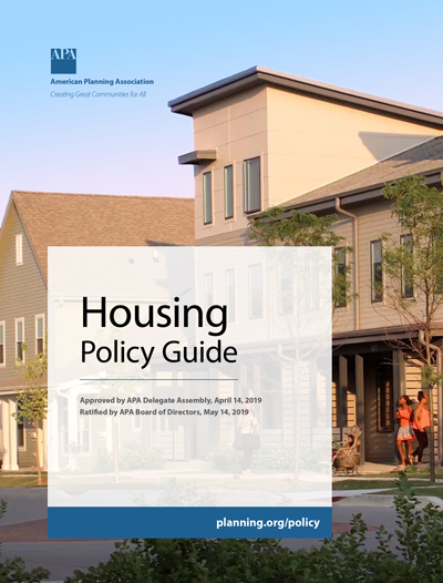 Housing Policy Guide