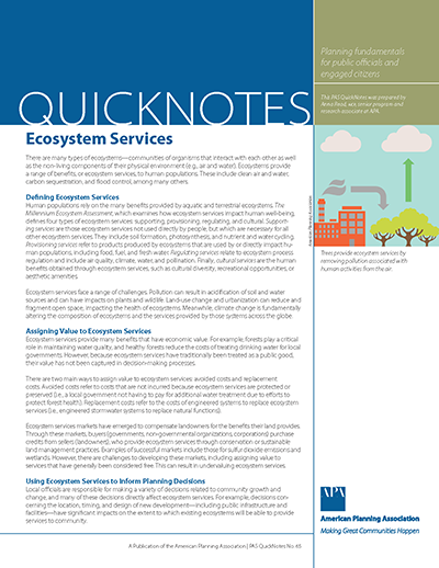 Cover of PAS QuickNotes 65