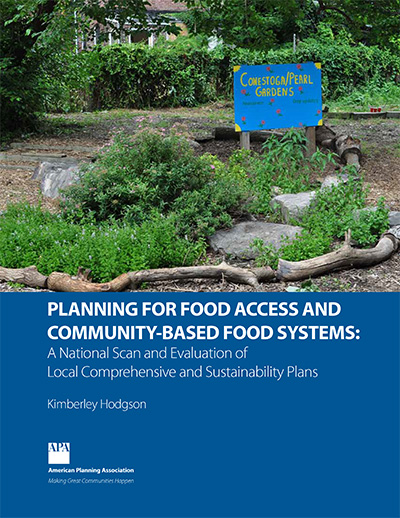 Planning for Food Access: A National Scan and Evaluation of