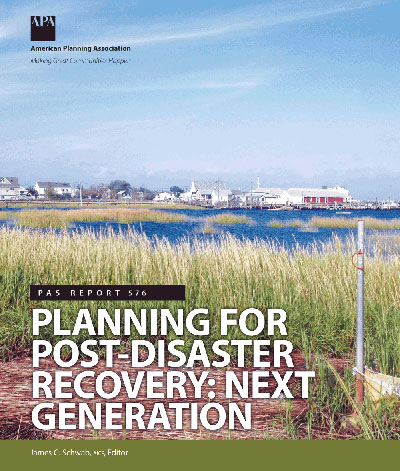 Planning For Post Disaster Recovery Next Generation