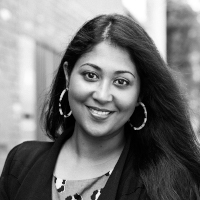 A headshot of Samantha Choudhury