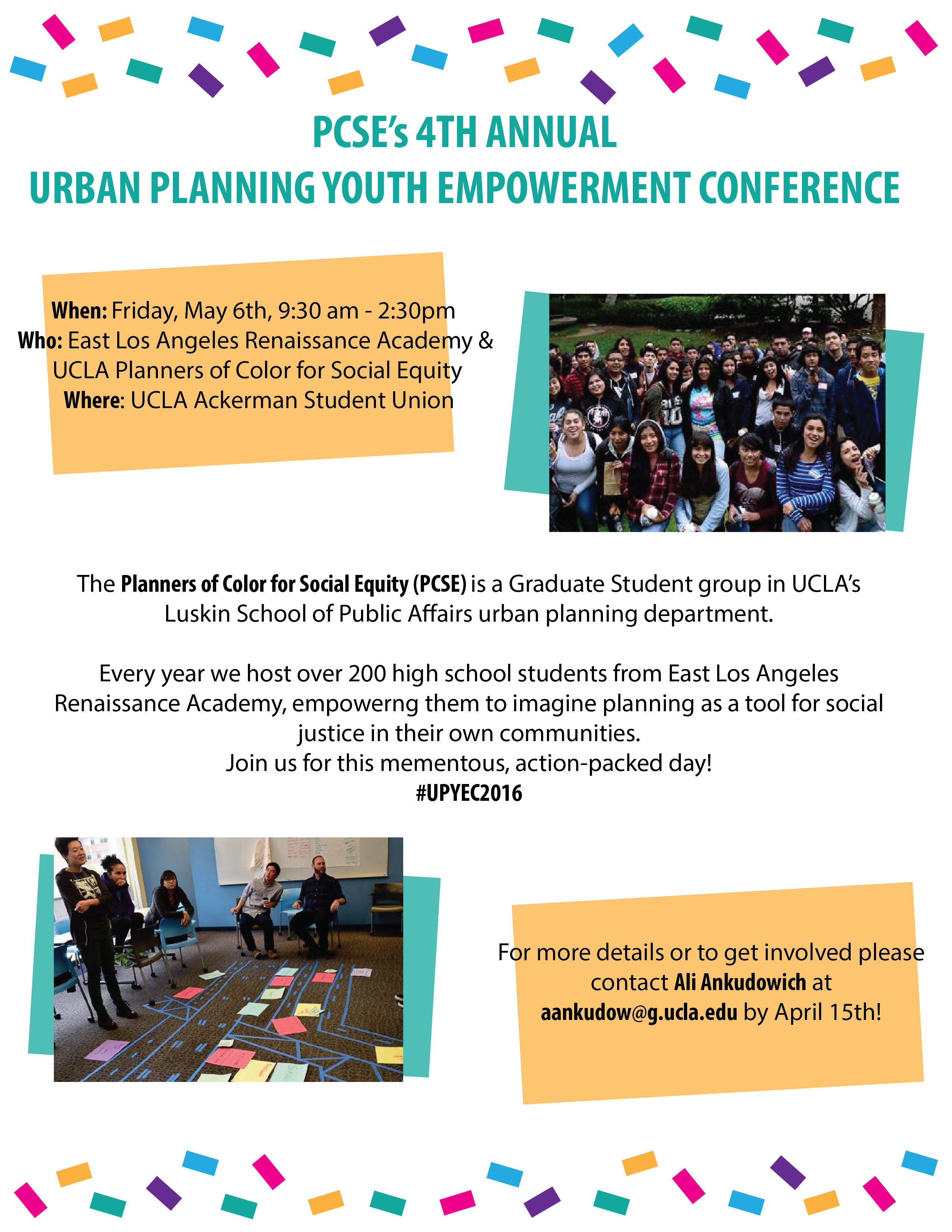 UCLA Youth Empowerment Conference 2016