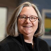 A headshot of Dr. Monica Schoch-Spana, medical anthropologist