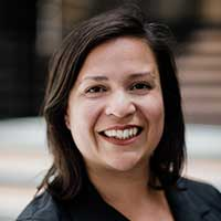 Headshot of CMAP executive director Erin Aleman.