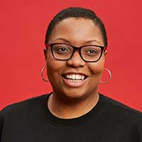 A headshot of Traci Sanders, director of civic impact at WXY Studio in New York. Photo courtesy WXY Studio.