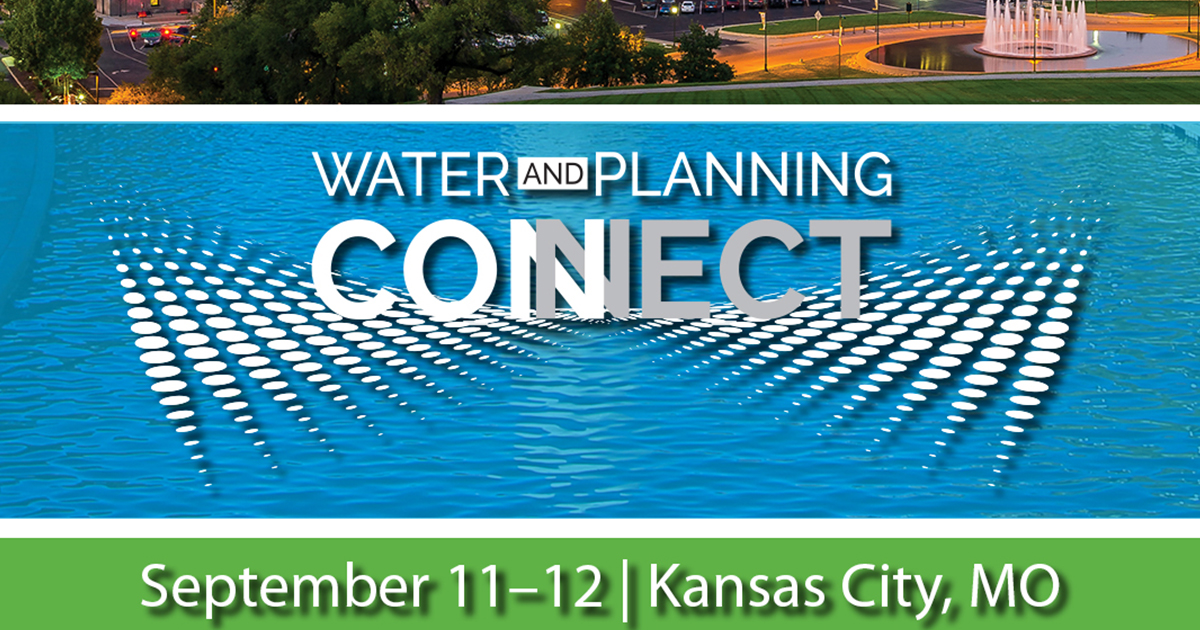 Water and Planning Connect