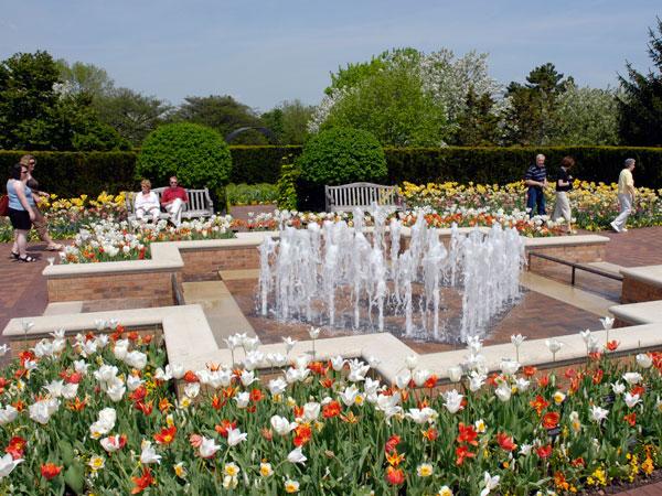 Chicago Botanic Garden Glencoe Illinois