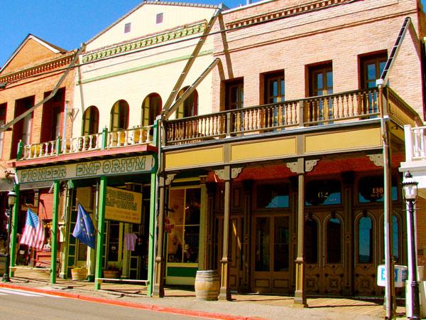 C Street: Virginia City, Nevada