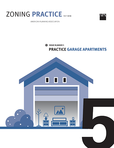 Zoning to Promote Garage Apartments