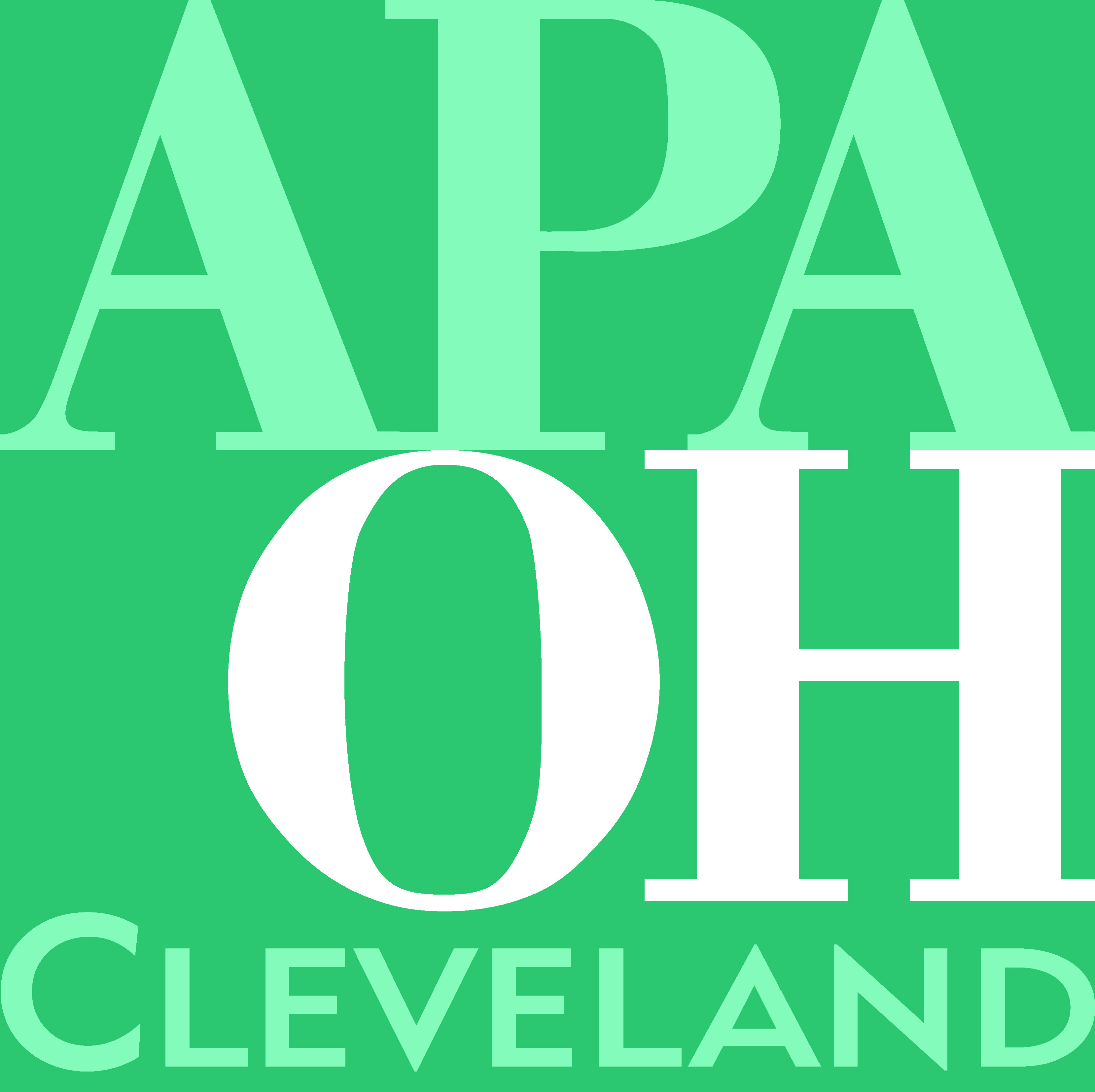 Statewide Opportunities For Linking Planning And: APA Ohio Cleveland Section