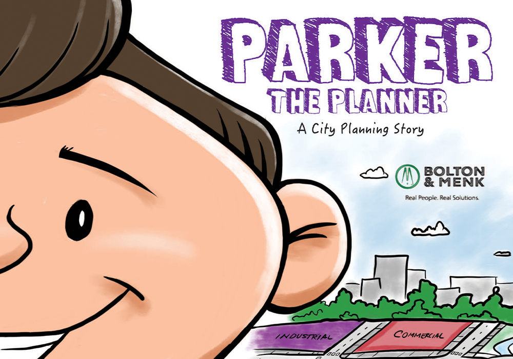"Cover Photo of ""Parker the Planner"": Through the adventures of Parker Perez, children learn what it means to be a planner."