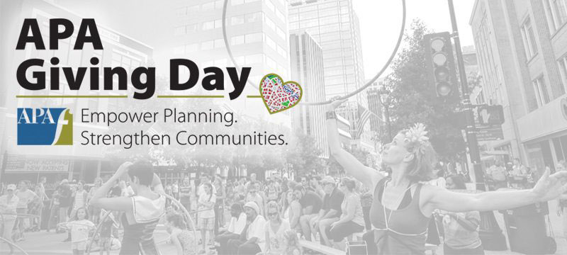 2019 APA Foundation Giving Day