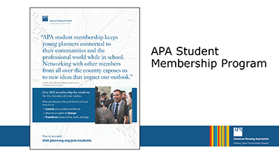 First slide of the APA Student Presentation Template available for chapters and APA members interested in organizing student-related events.