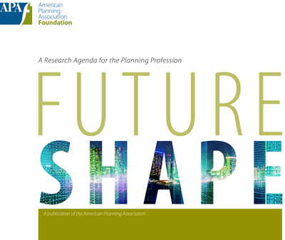 Cover of FutureShape: A Research Agenda for the Planning Profession