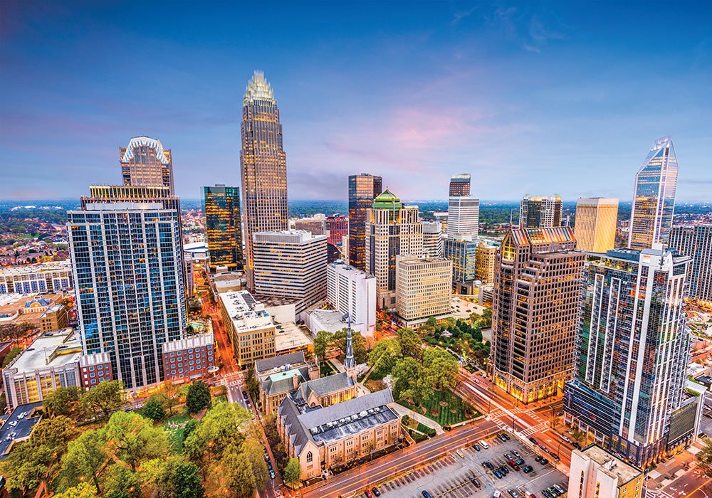 Getty image of Charlotte, North Carolina for Planning Home Case Study