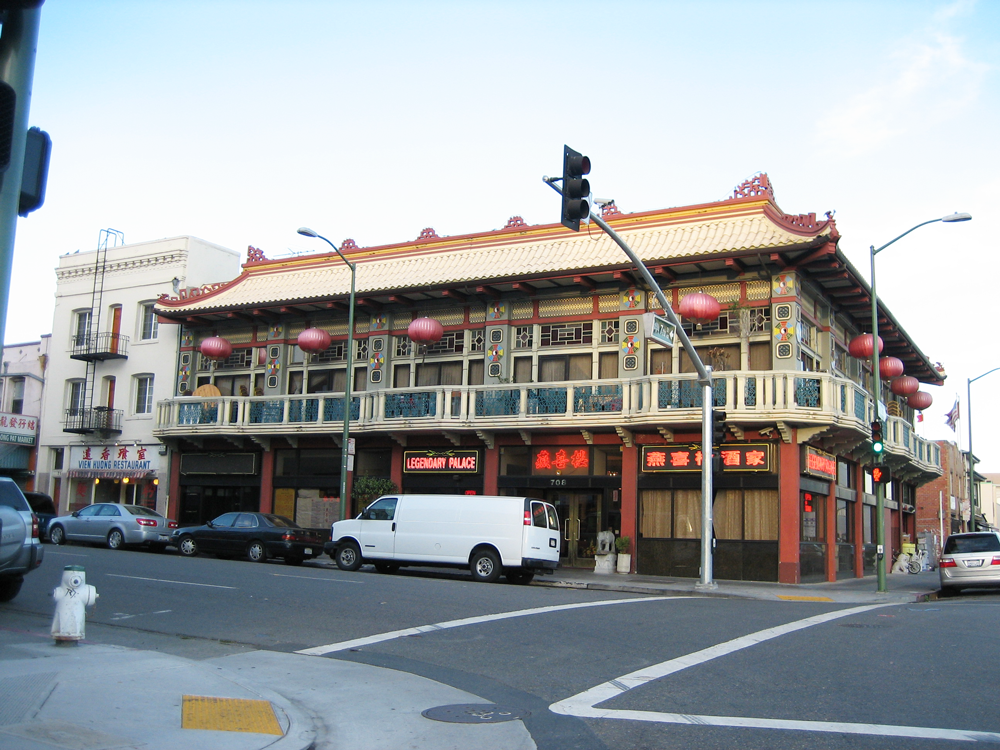The 2019 AICP Community Planning Workshop will focus on an area of downtown Oakland that includes historic Chinatown. Photo by Daniel Olsen.