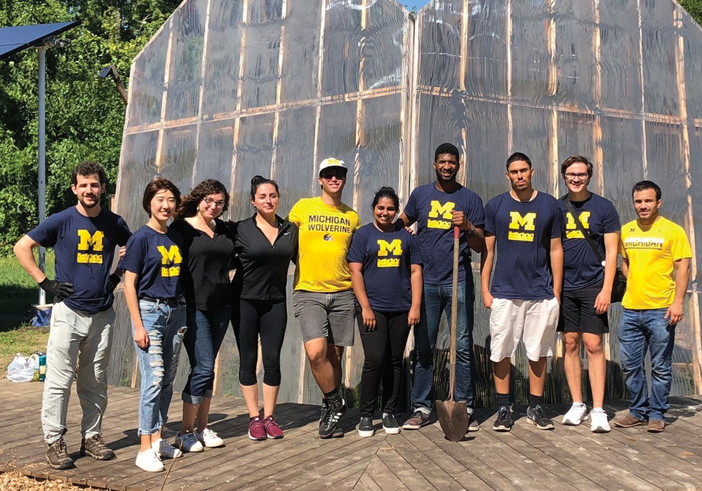 The 2019 Outstanding PSO Honorable Mention is the Urban Planning Student Association (UPSA) at the University of Michigan.