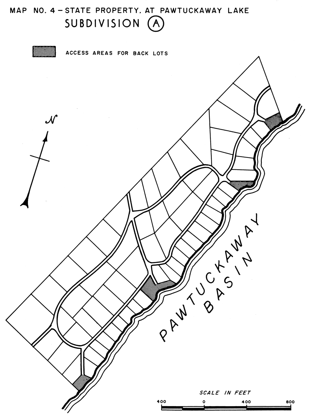 Figure 2. From A Plan for the Development of the State Property at Pawtuckaway Lake, New Hampshire State Planning and Development Commission
