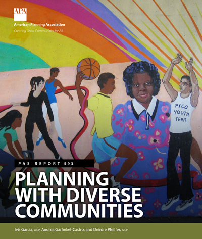 The cover of PAS Report 593: Planning With Diverse Communities.