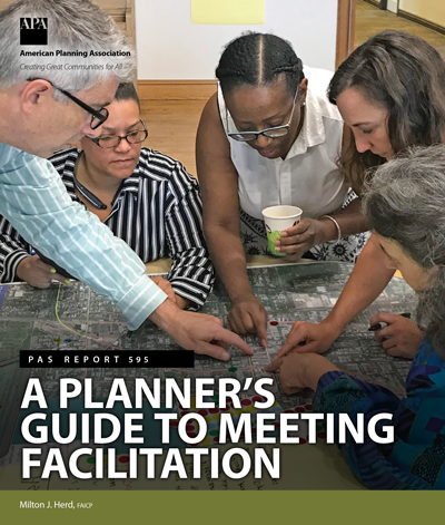 The cover of PAS 595: A Planner's Guide to Meeting Facilitation.