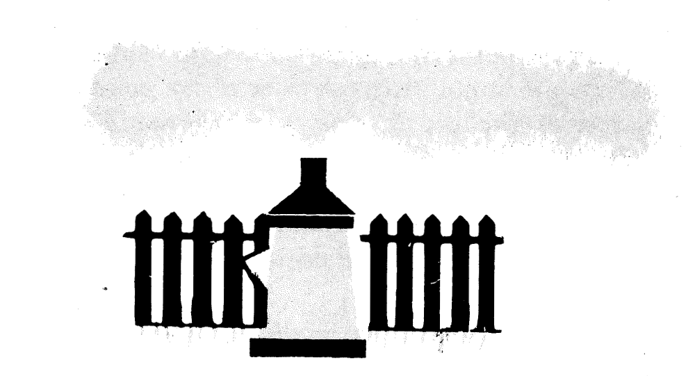 PAS Report 79, Figure 2. Line drawing of fire hydrant and fence.
