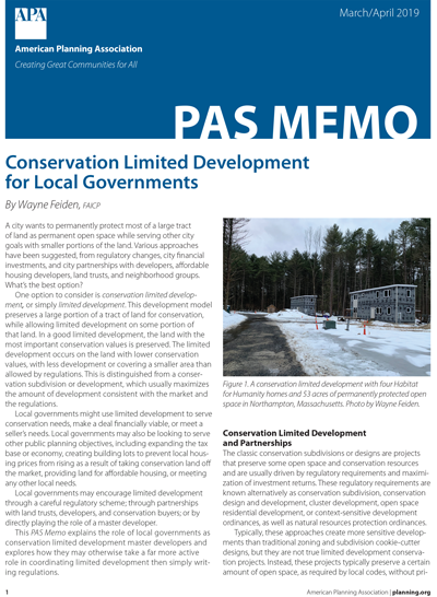 Cover of March-April 2019 PAS Memo.