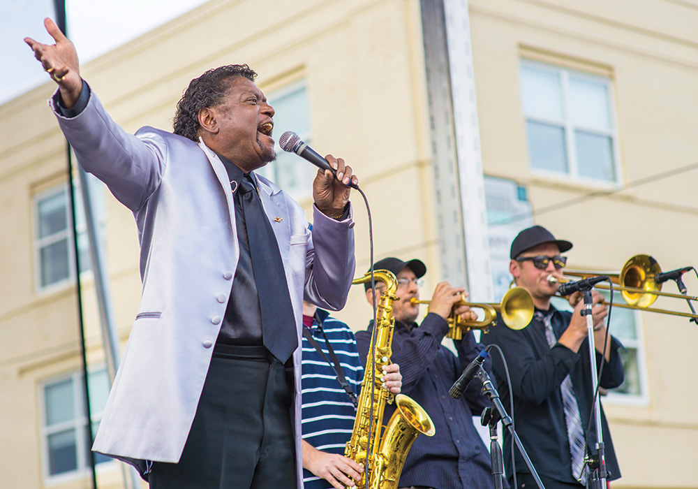 Denver's Five Points Jazz Festival celebrates the neighborhood once known as the Harlem of the West. Photo courtesy Visit Denver.