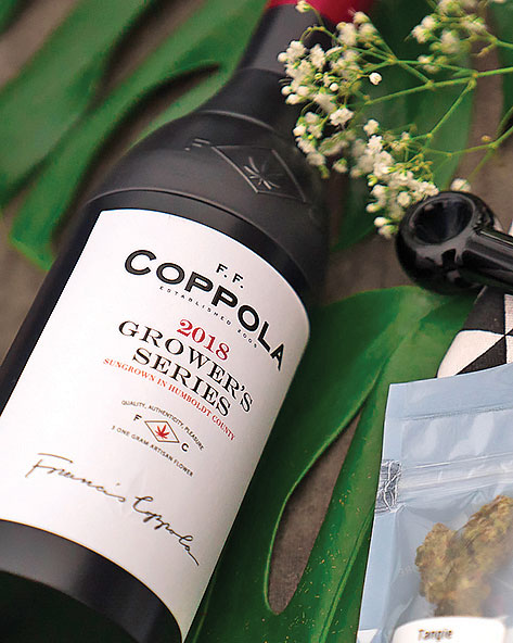 Hollywood director and winemaker Francis Ford Coppola has invested in a new venture that markets luxury marijuana products along with his signature wine brand. Photo by Justin Hargraves.
