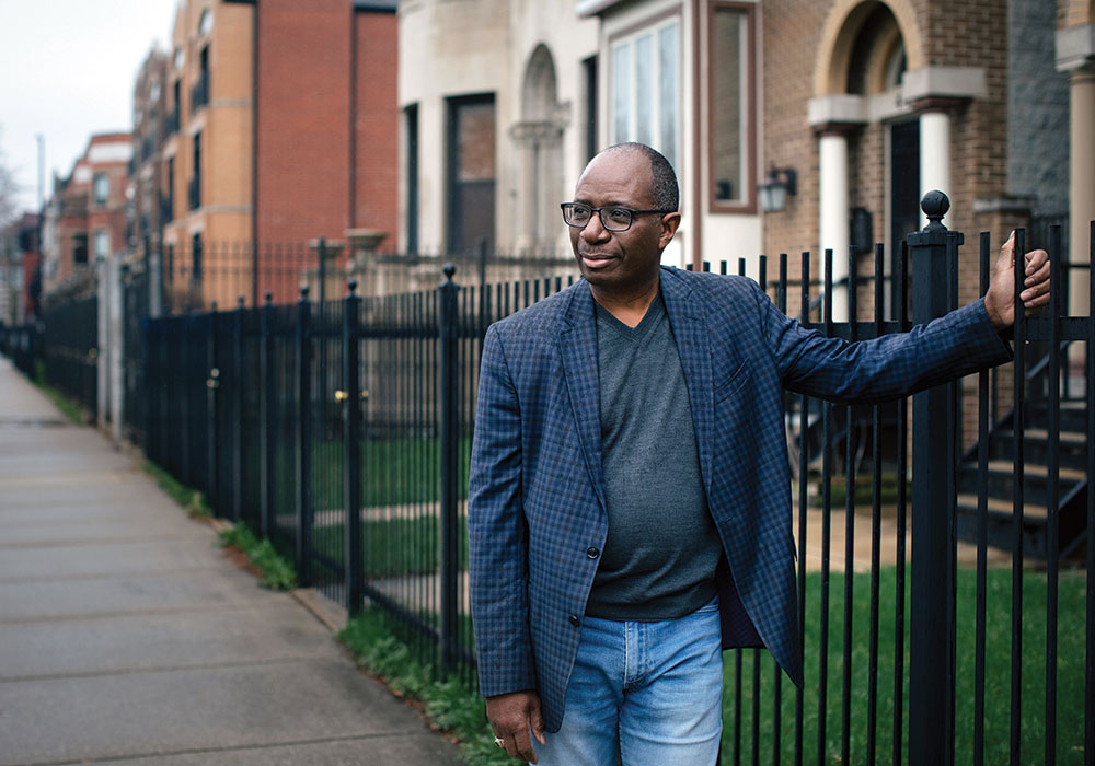 For Lennox Jackson, a developer based in the Bronzeville neighborhood of Chicago, the Opportunity Zones program aligns with his mission to build responsible real estate projects throughout the city. Photo by Alyssa Schukar.
