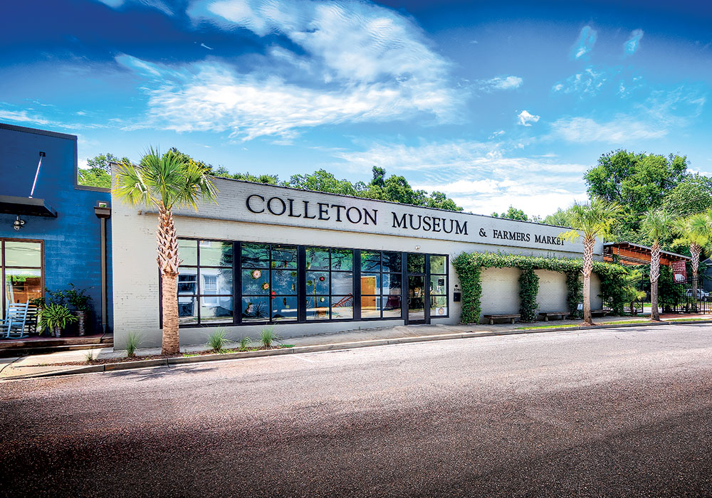 The Colleton County Museum and Farmers Market is building the business of food by sponsoring a community kitchen, classes, and a sales outlet. Courtesy City of Walterboro Tourism Department.