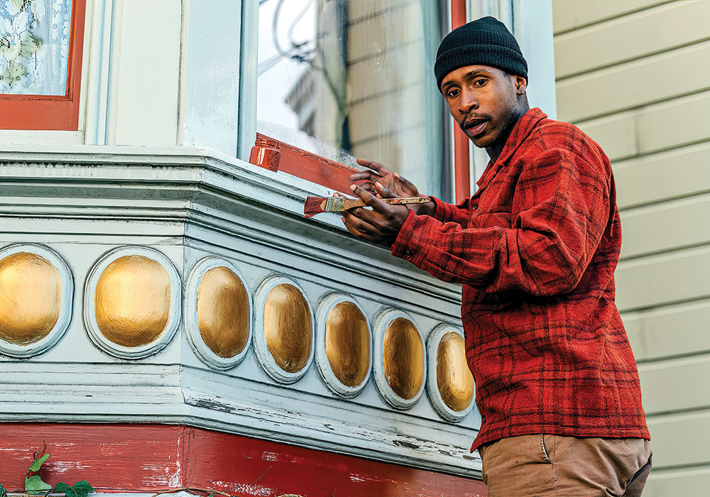 Jimmie Fails stars in The Last Black Man in San Francisco (2019), a wistful look at the city's changing landscape and the long-time residents struggling to still call it home. Photo courtesy A24.