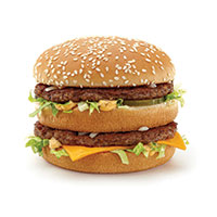 The Big Mac is added to the McDonald's menu.