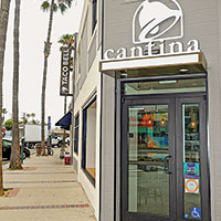 Taco Bell opens its first Cantina location, in Newport Beach, California, where it serves alcohol.