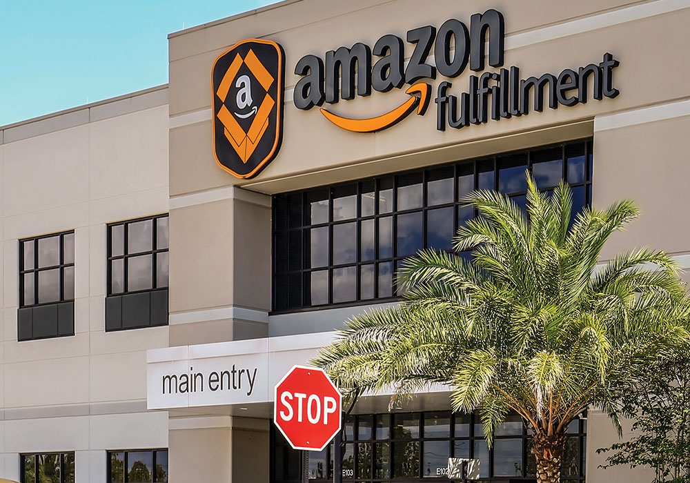 Already the largest internet-based retailer in the U.S., Amazon is moving fulfillment centers closer to consumers and envisions new transportation modes to get the orders to them.