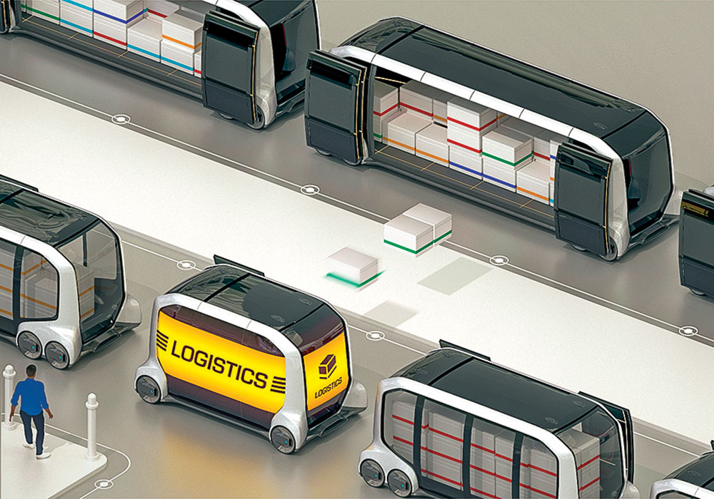 Toyota hopes its all-electric and autonomous e-Palette vehicles will serve a variety of functions: ride sharing (they'll transport athletes at the 2020 Olympics in Tokyo), mobile office and retail space, food deliveries, traveling labs and clinics, and even moveable warehouses.