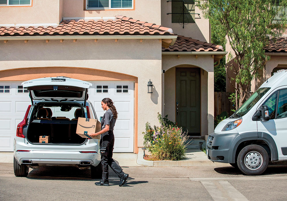 Amazon Prime members in certain cities who don't mind giving Amazon the virtual keys to their cars can get their packages delivered right to their trunks.