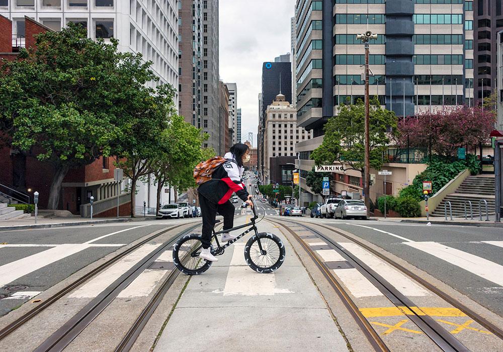 California Street, San Francisco — Monday, March 23
