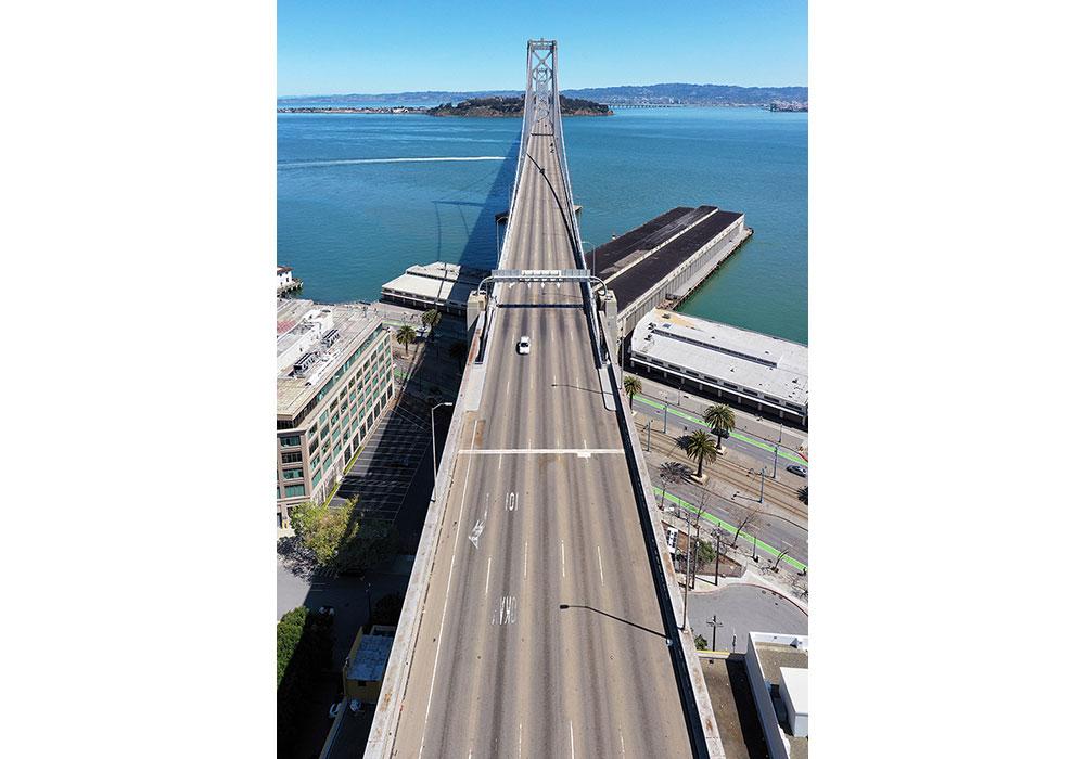 San Francisco-Oakland Bay Bridge — Friday, April 3