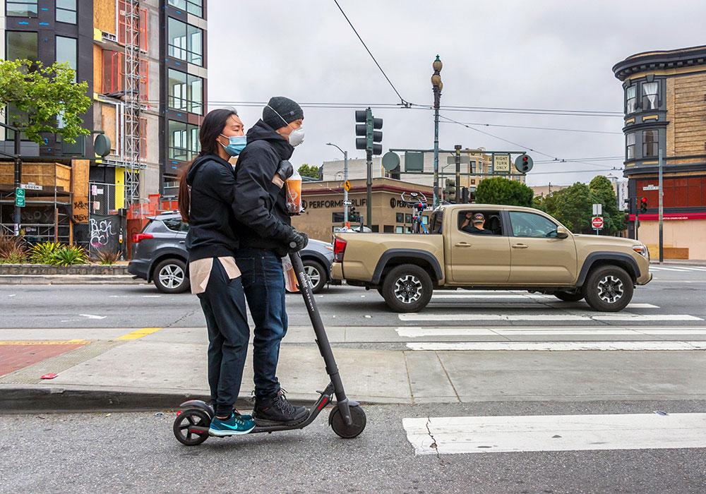 Market Street, San Francisco — Saturday, April 11