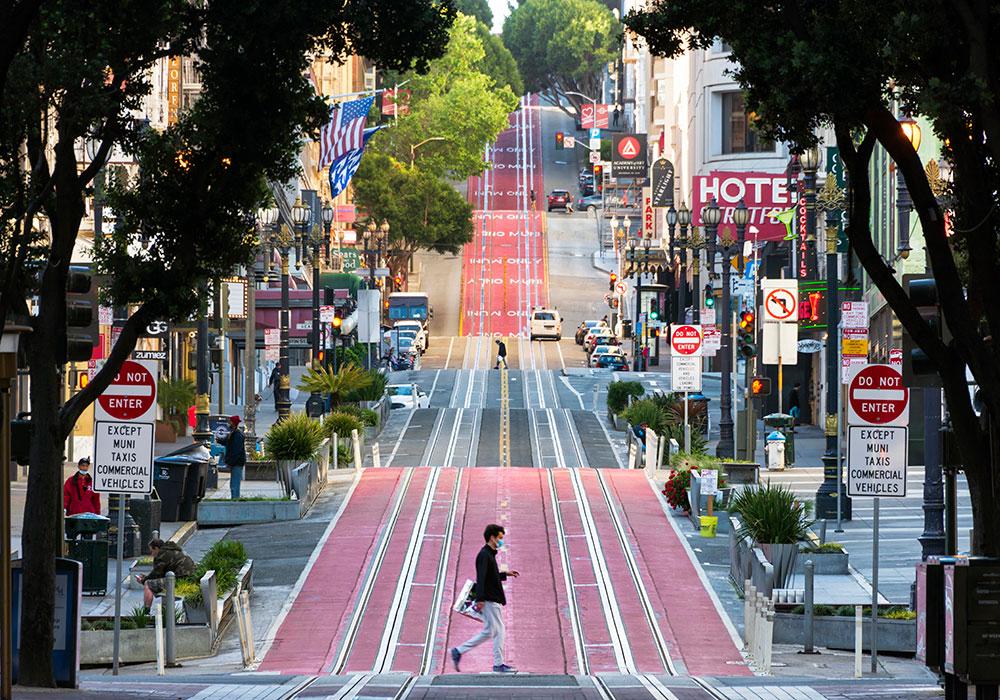 Powell Street, San Francisco — Monday, April 27