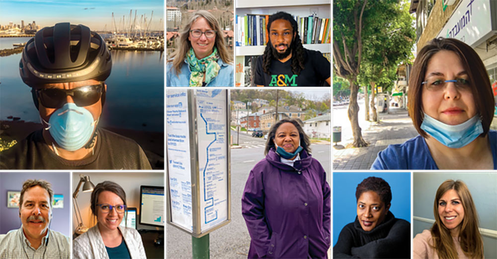 Planners from all over tell their stories of the pandemic.