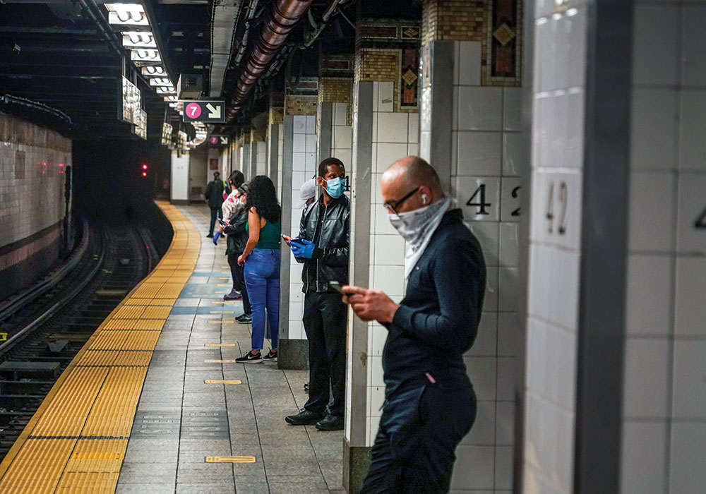 If no additional federal relief is provided to transit agencies over the course of the pandemic, New York City might need to cut its service by 40 percent. Photo by Chang W. Lee/The New York Times.