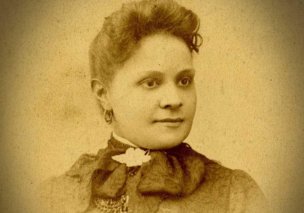 Fannie Barrier. Photo courtesy Wikipedia.