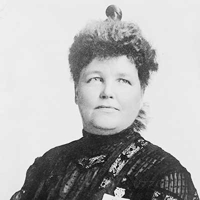 Mrs. Sarah Platt Decker. Photo courtesy J.C. Strauss, St. Louis/Library of Congress.